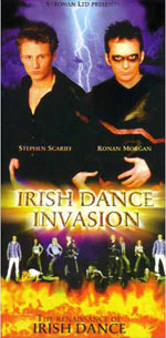 Irish Dance Invasion Poster